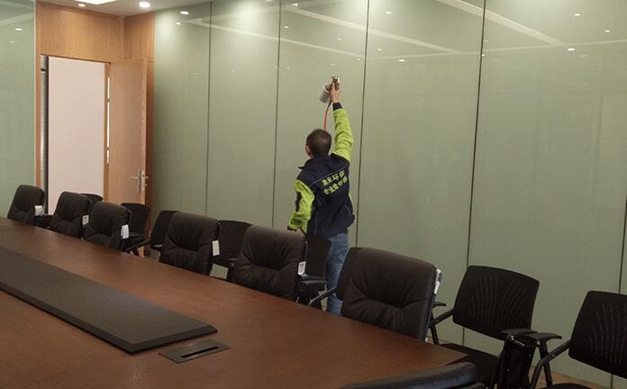 西安廣源辦公室除甲醛案例圖片