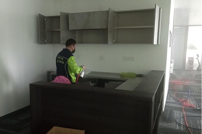 西安上大辦公樓空氣淨化治理工程